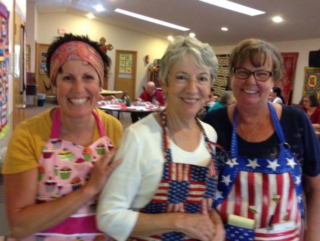 Renee, Ann Nora and Carol